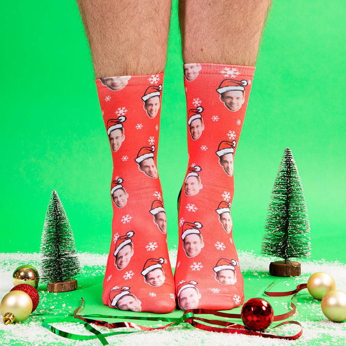 Santa Face Socks