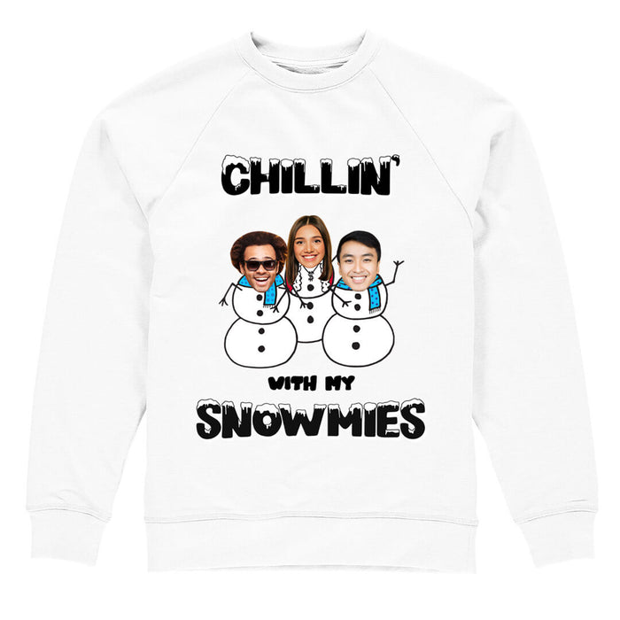 Chillin' With My Snowmies Christmas Jumper