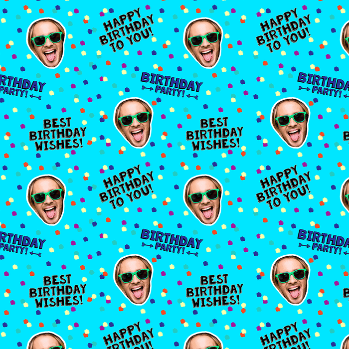 Birthday Polka Dot Wrapping Paper