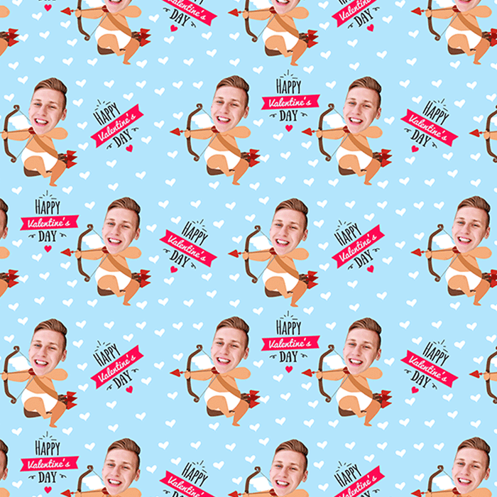 Cupid Boy Wrapping Paper