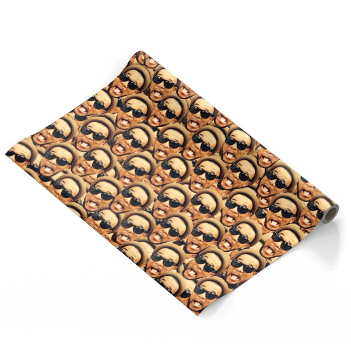 Face Mash Wrapping Paper