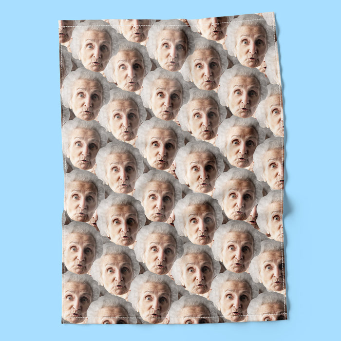 Face Mash Tea Towel