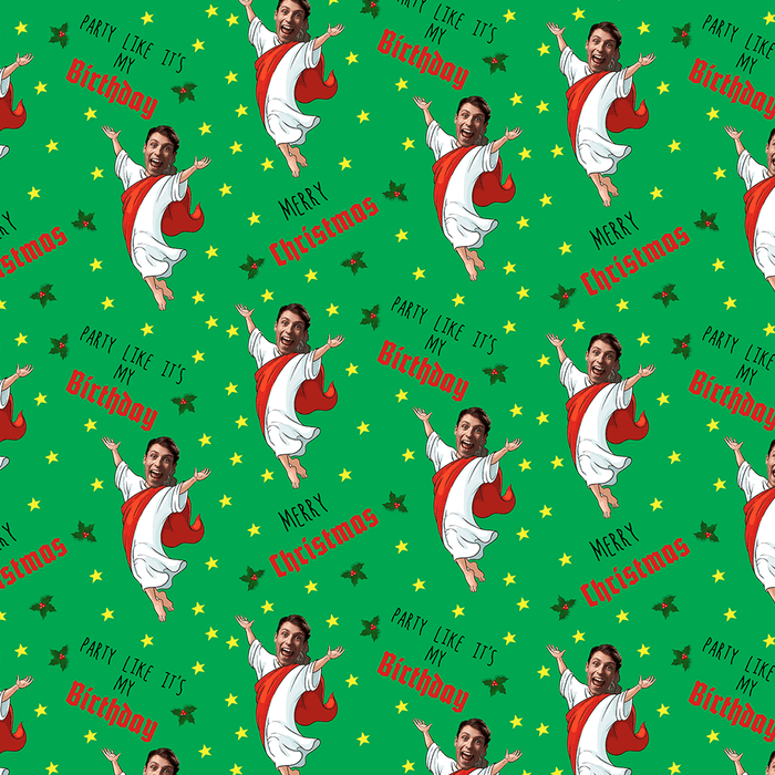 Merry Christmas Jesus Wrapping Paper