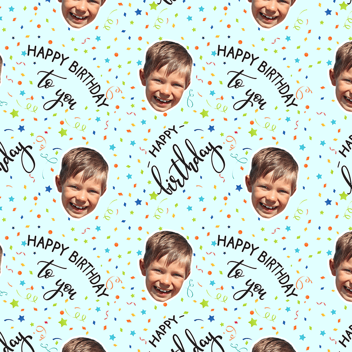 Birthday Confetti Wrapping Paper