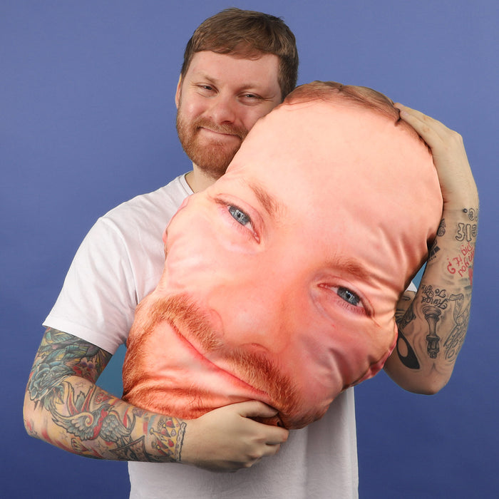 Monster Face Cushion
