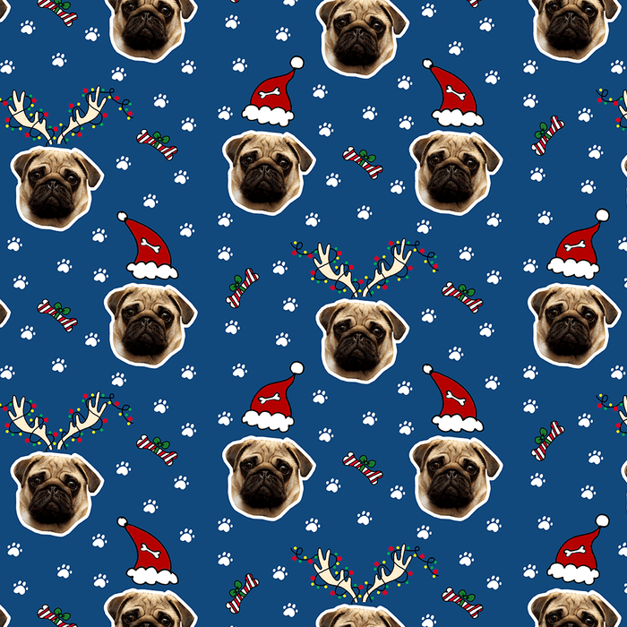 Christmas Dog Wrapping Paper