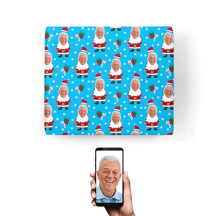 Santa Me Wrapping Paper