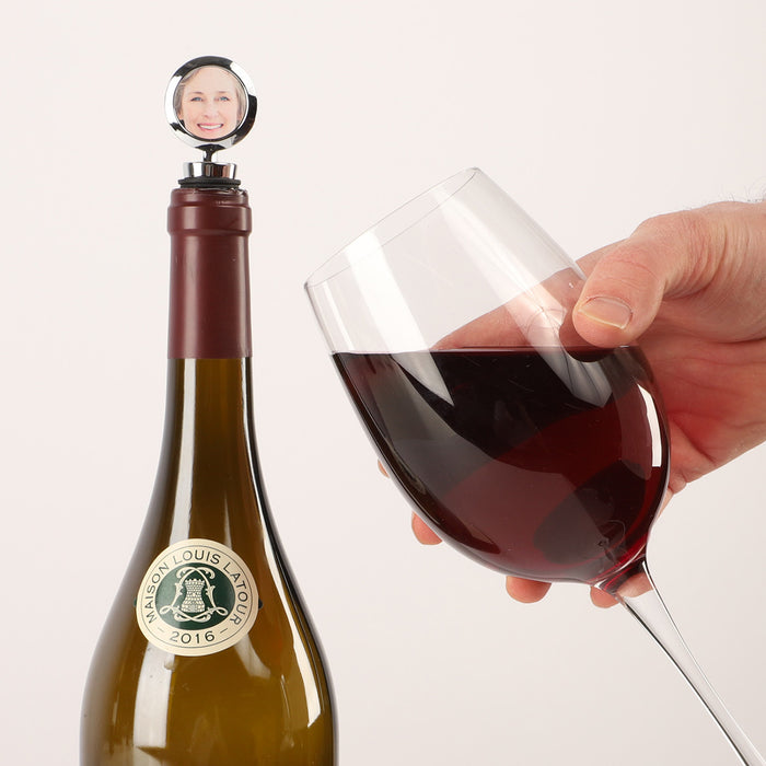 Face Wine Stopper