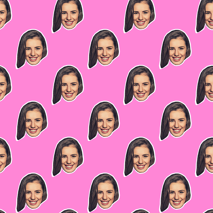 Your Face Wrapping Paper