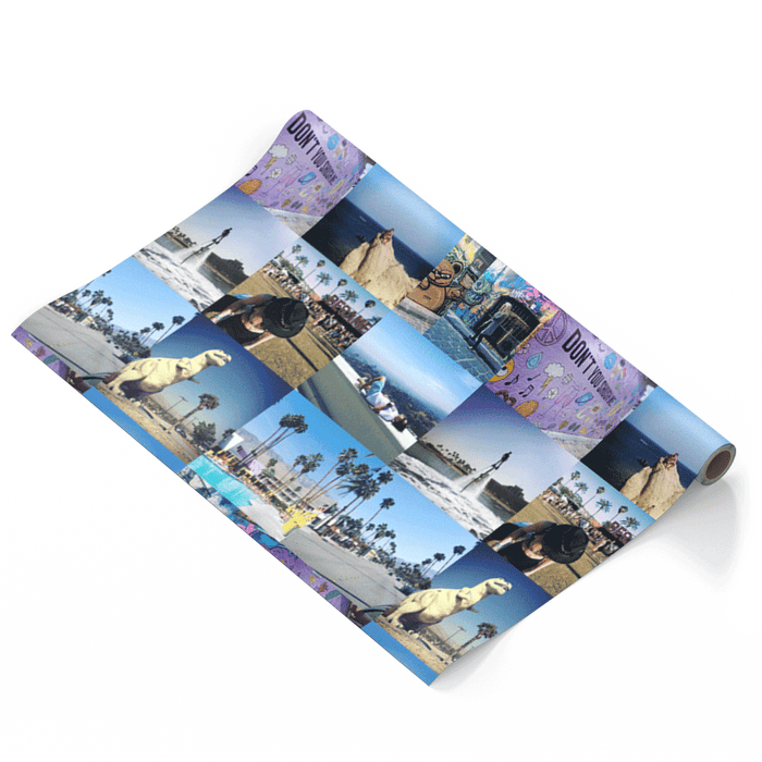 Photo Collage Wrapping Paper