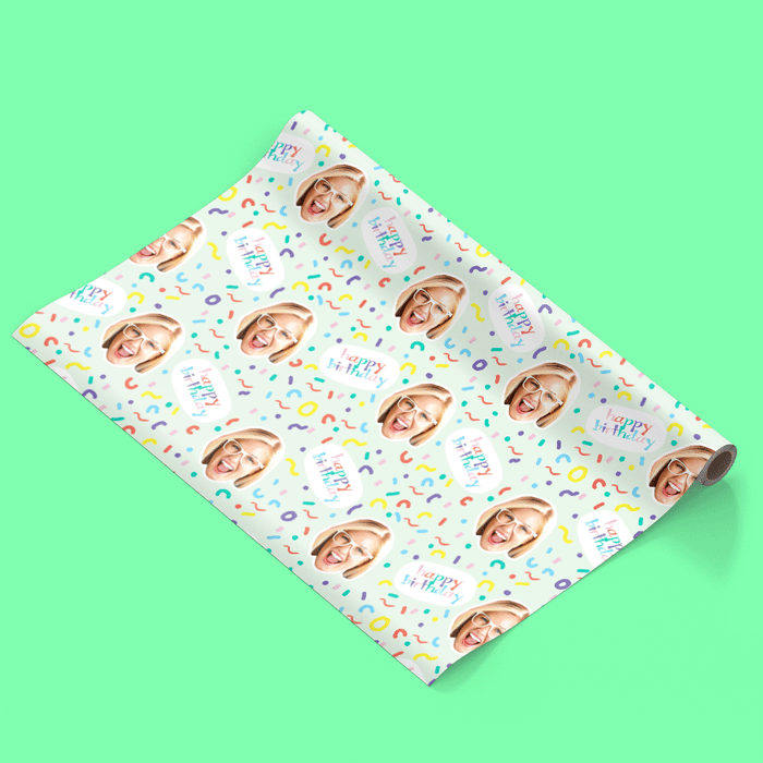 Birthday Squiggles Wrapping Paper