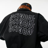 WB025 Logo Embroidered Bomber Jacket (Black)