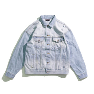 DJ010 Washed Denim Jacket