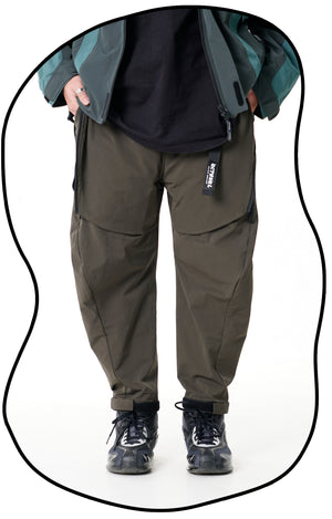 OSLP060 Mountaineering Pegged Pants (Green)