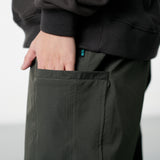 LP072 Slash Pockets Relaxed Pants (Green)