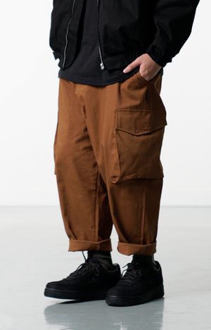 LP074 80% Pocket Pants (Brown)