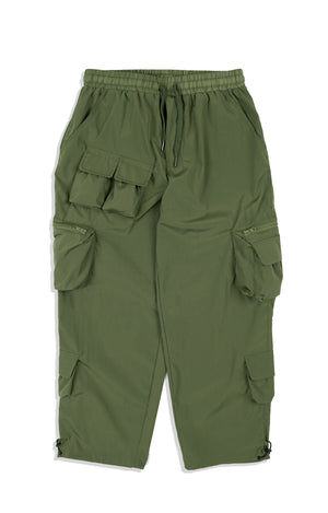 LP081 Multi Pocket Pants (Green)