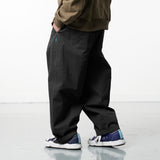 LP085 Wide Fatigue Pants (Green)