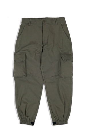 OC024 7 Pocket Cargo Jogger Pants (Green)
