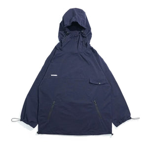 PO-012 Pullover Windbreaker (Navy)