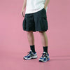 S019 Large Pocket Shorts (Black)