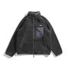 SJ011 Fleece Zip Jacket (Black)