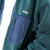 SJ011 Fleece Zip Jacket (Green)