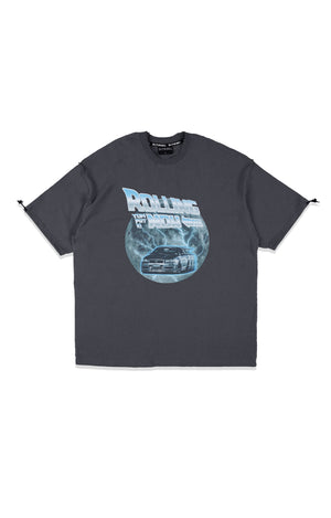OCTO GAMBOL x TFK02 Rolling Now T-shirt (Dark Grey)