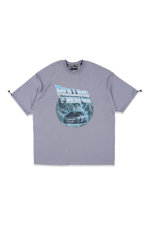 OCTO GAMBOL x TFK02 Rolling Now T-shirt (Light Blue)