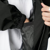 WB024 3D Chest Pocket Track Jacket (Black)