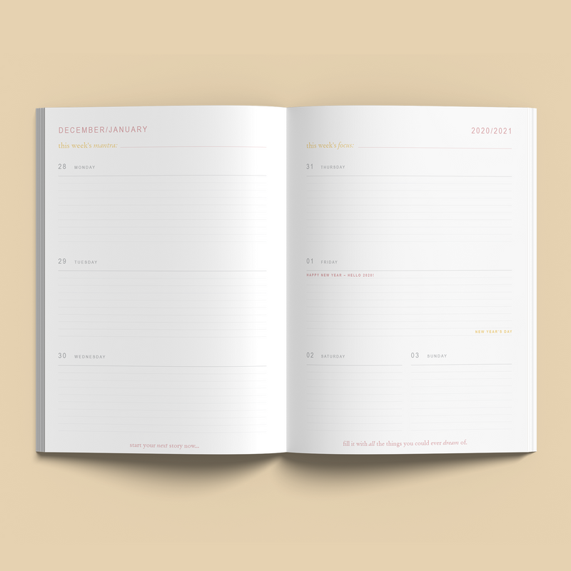 Collective Hub 2021 Diary Journal (SOLD OUT)