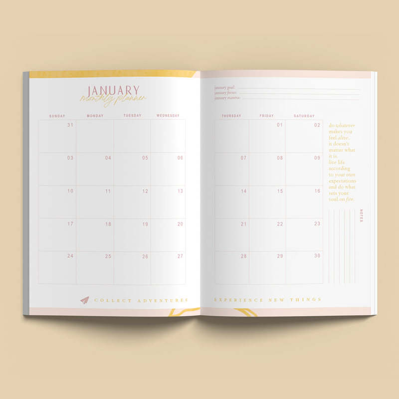 Collective Hub 2021 Diary Journal