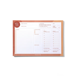 Best Life Daily Planner Notepad