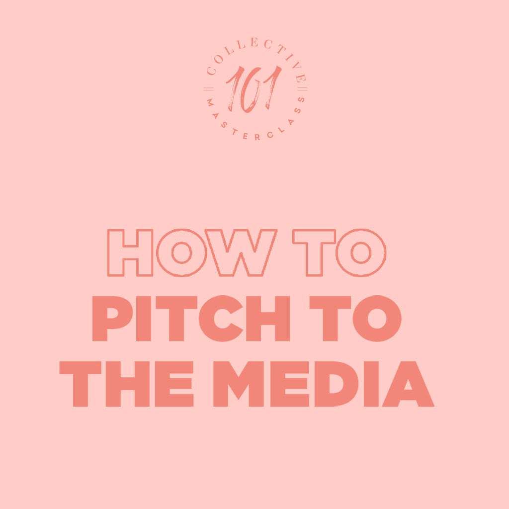 Pitch to Media Masterclass