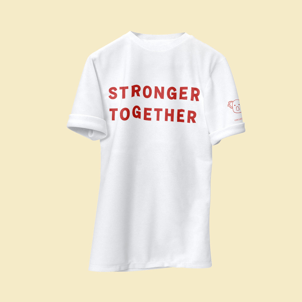 Stronger Together Men's Organic Tee