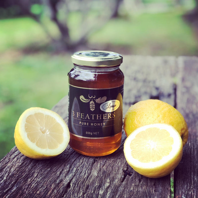 3 Feathers Honey - Lemon