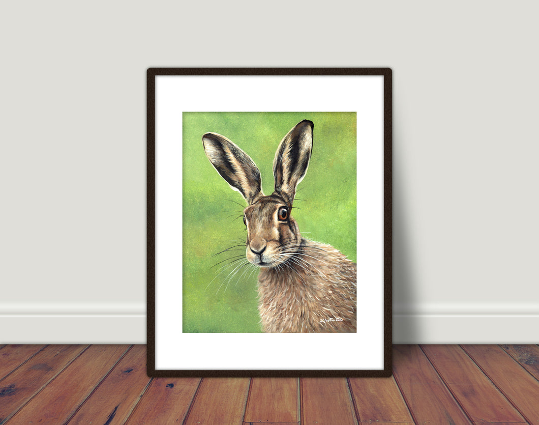 Hare Limited Edition Print