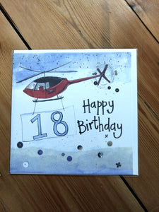 18 Birthday Greeting Card