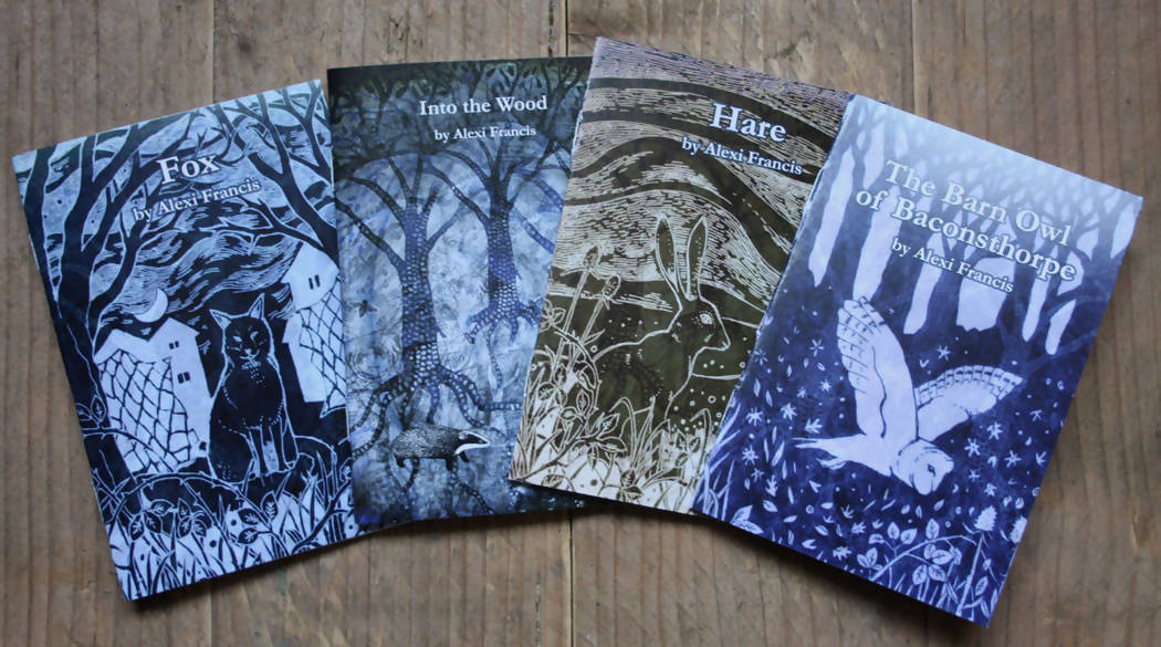 Four Nature Writing Booklets