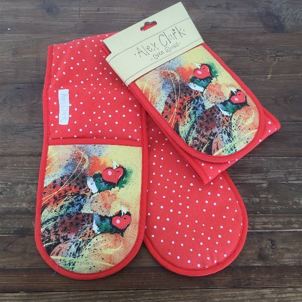 Pheasants Oven Gloves