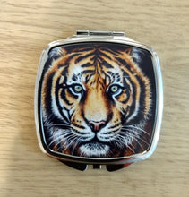 Load image into Gallery viewer, Tiger Compact Mirror