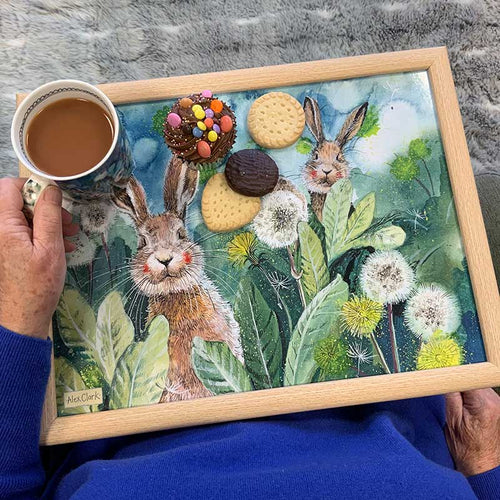 Little Rabbits Lap Tray