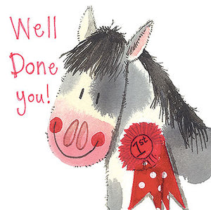 Well done Horse Greeting Card