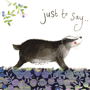 Badgers Greeting Card