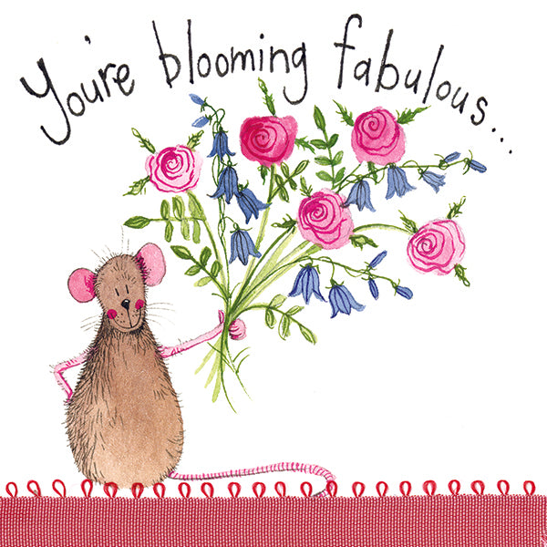 Blooming Fabulous Greeting Card