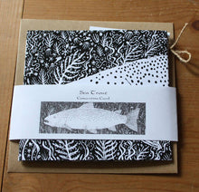Load image into Gallery viewer, Sea Trout Concertina Greetings Card