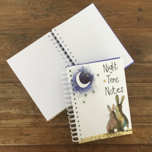 Night Time Spiral Journal