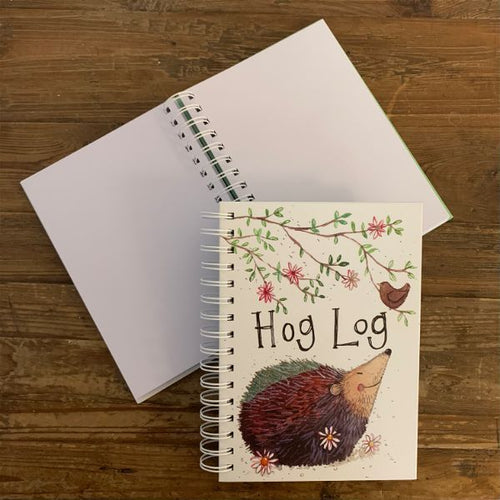 Hog log Hedgehog Spiral Journal