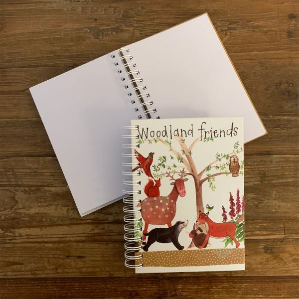 Woodland Friends Spiral Journal