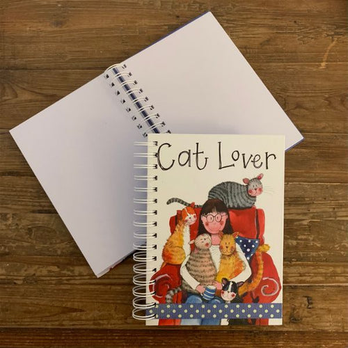 Cat Lover Spiral Journal